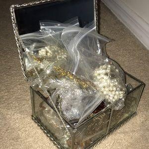 Vintage jewelry mystery box